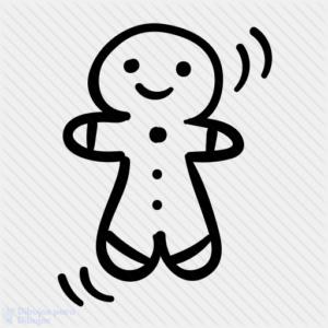 adornos de galletas de jengibre