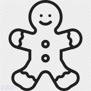 adornos navideños galletas jengibre