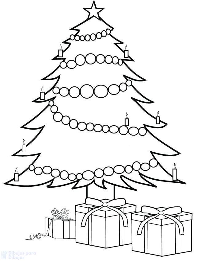 arbol de navidad sencillo