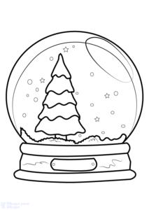 cómo dibujar un arbolito de navidad
