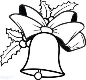 campanas navideñas dibujos