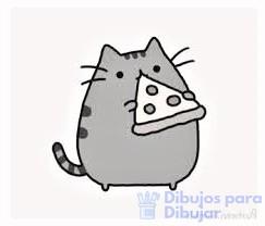 caricatura de pizza