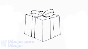 como dibujar un regalo