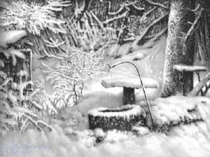 como hacer nieve de papel