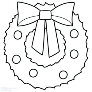 corona de adviento dibujo