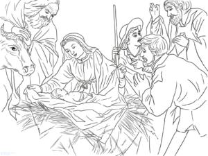 cuadros del nacimiento de jesus