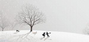 dibujo de nieve para imprimir scaled