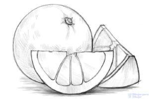 dibujos animados naranjas