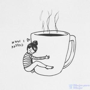 dibujos cafe con leche