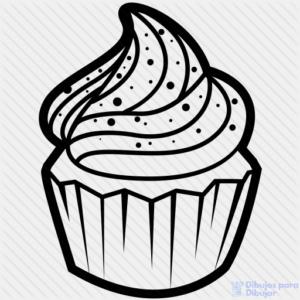 dibujos de muffins