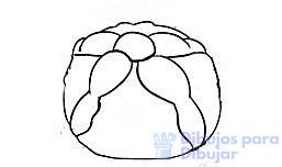 dibujos de pan de muerto