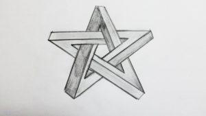estrella para pintar scaled
