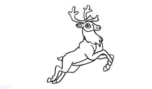figuras de renos navideños scaled