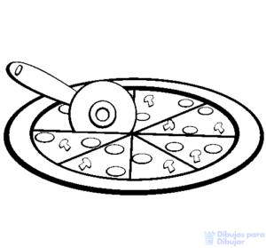fotos de pizzas grandes