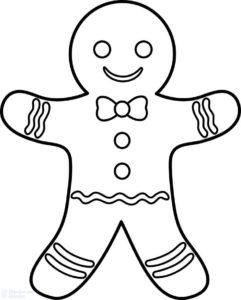 galletas muñeco de jengibre