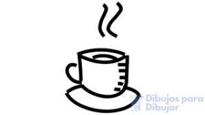 hacer dibujos en el cafe