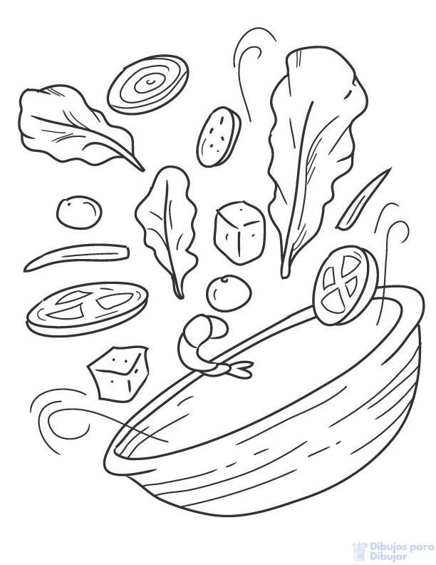 imagenes de comida en caricatura