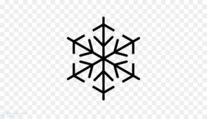 imagenes de copos de nieve para colorear