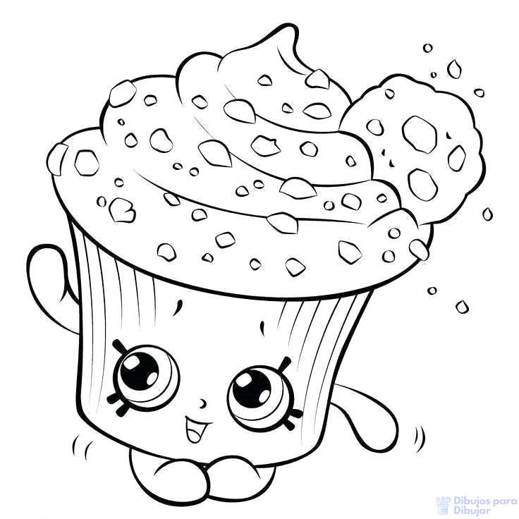 imagenes de cupcakes animados