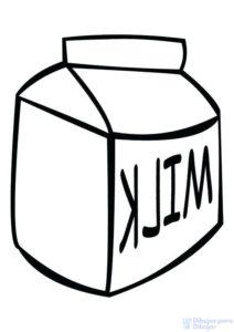 imagenes de leche para pintar