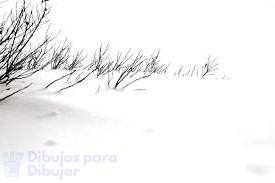 imagenes de nieve para dibujar