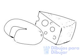 imagenes de queso para dibujar