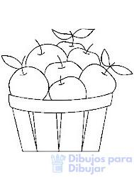 manzana caricatura