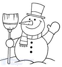 muñeco de nieve navidad