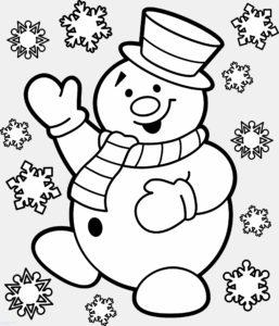 muñeco nieve navidad scaled