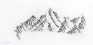 nieve para pintar