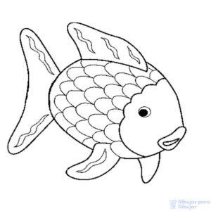 pescado para colorear