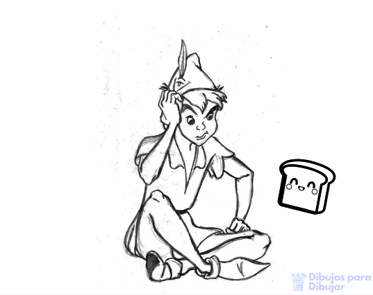 peter pan dibujo