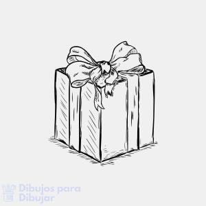 regalo colorear