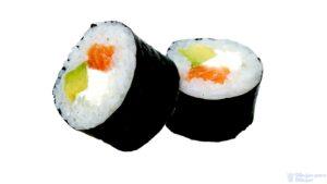 sushi envuelto en nori