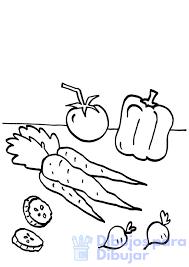 vegetales para dibujar