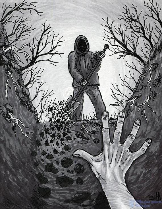 caricaturas de miedo