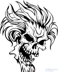 como dibujar un demonio