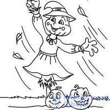 como dibujar un espantapajaros