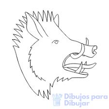 Dibujos De Jabalíes 75 Facil Tutorial