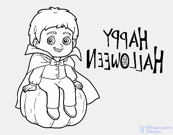dibujo de un vampiro