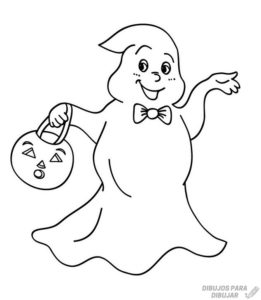 dibujos de fantasmas para niños
