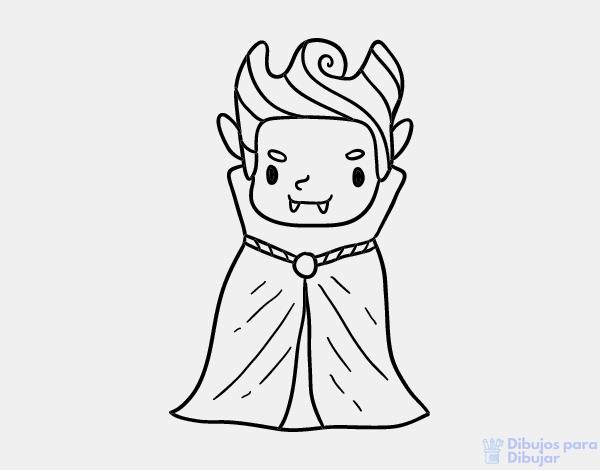 dibujos de vampiros para niños