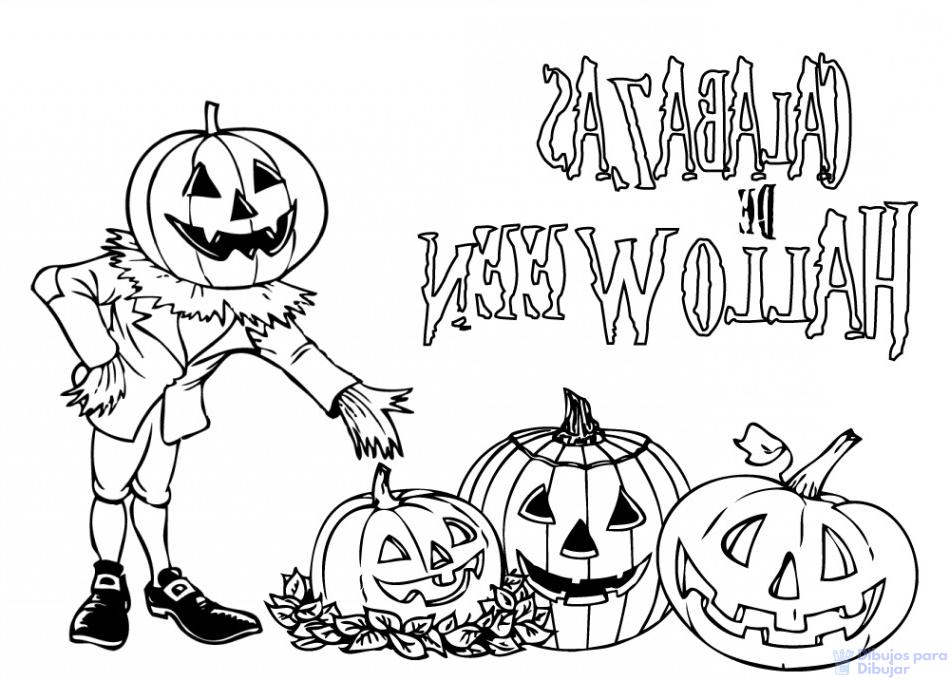 dibujos halloween para imprimir y recortar