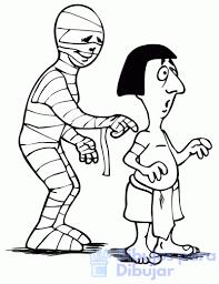 dibujos infantiles de momias