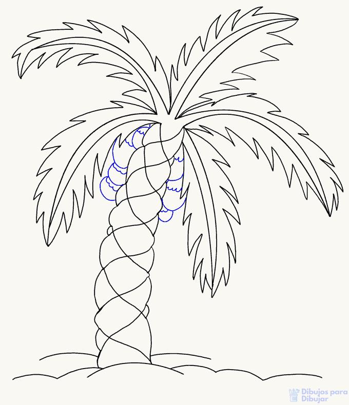dibujos infantiles de palmeras
