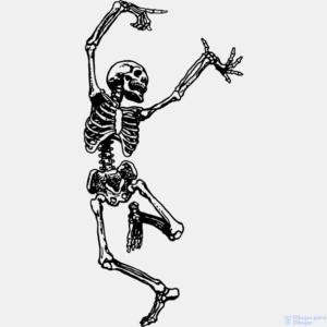 esqueleto para colorear