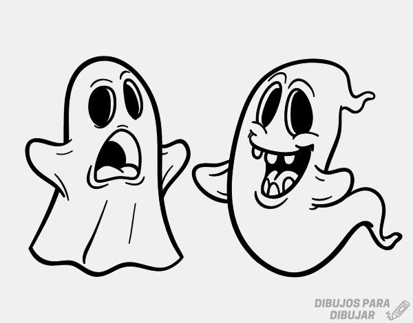 fantasmas para imprimir