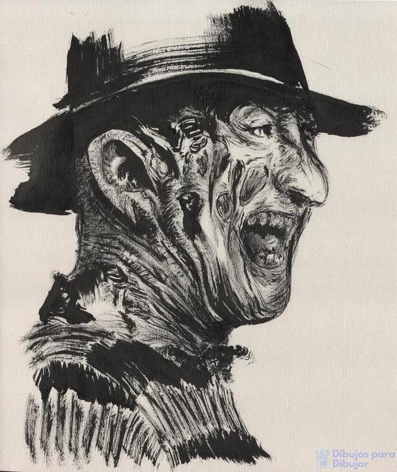 imagenes de dibujos de terror