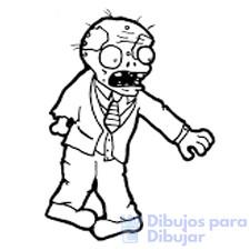 zombies dibujos