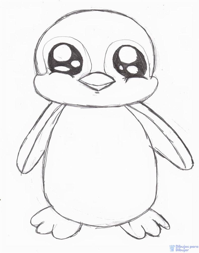 🥇【+2250】Los mejores dibujos de pingüinos para dibujar ⚡️